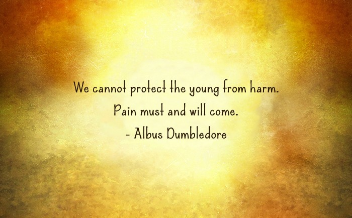 Harry Potter and the Cursed Child Quote - Pain must and will come.