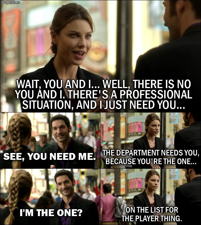 18 Best Lucifer Quotes From Manly Whatnots (1x04