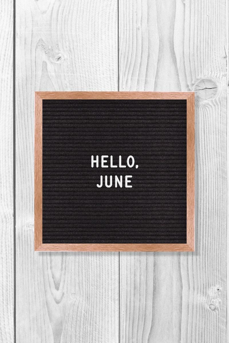 June Quotes | Hello, June.