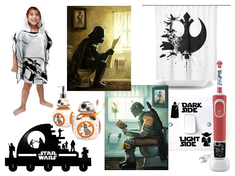 Star Wars Gift Guide - Bathroom