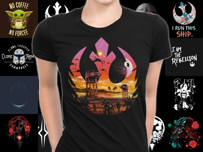 Star Wars Gift Guide - T-shirts