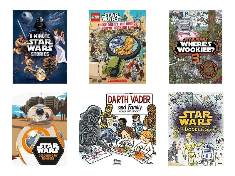 Star Wars Gift Guide - Toys Books