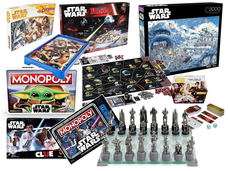 Star Wars Gift Guide - Toys Games