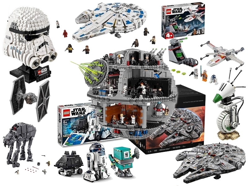 Star Wars Gift Guide - Toys Lego