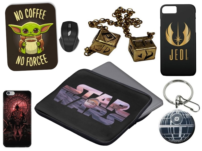 Star Wars Gift Guide - -cases, keychains...