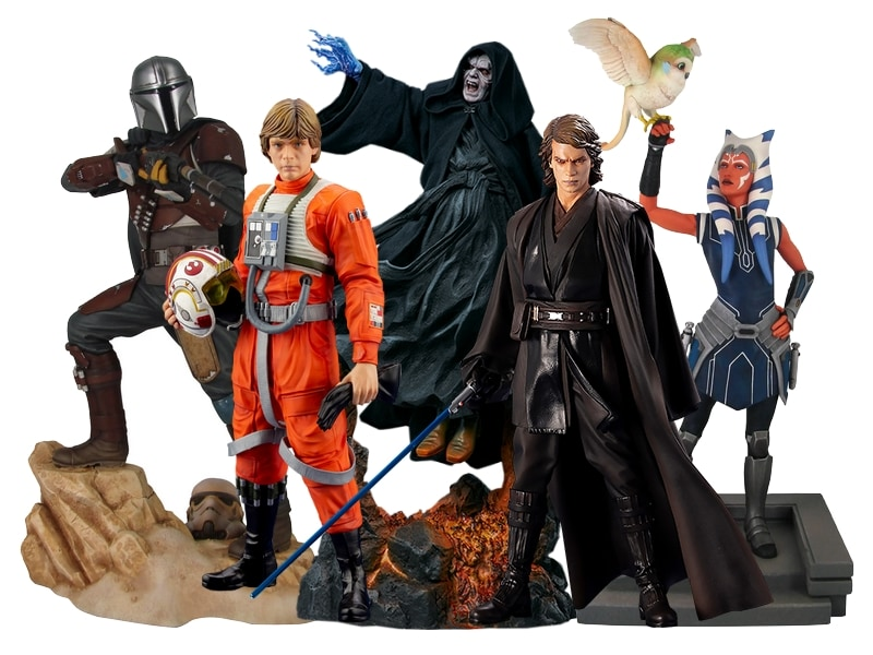 Star Wars Gift Guide - statues