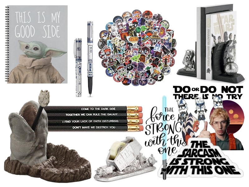 Star wars Gift Guide - Office Stationary