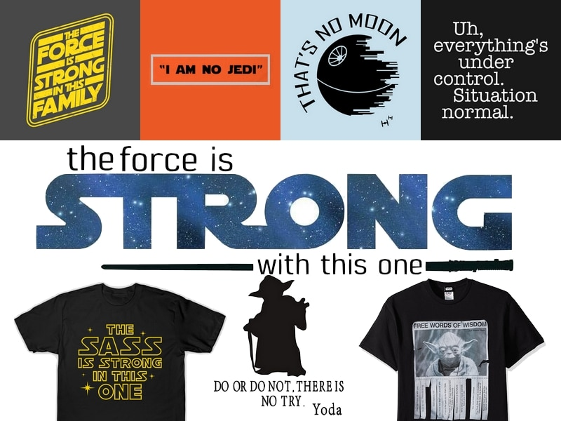 Star wars Gift Guide - Quotes