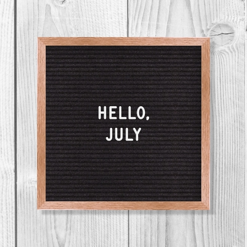 July Quotes | Hello, July.