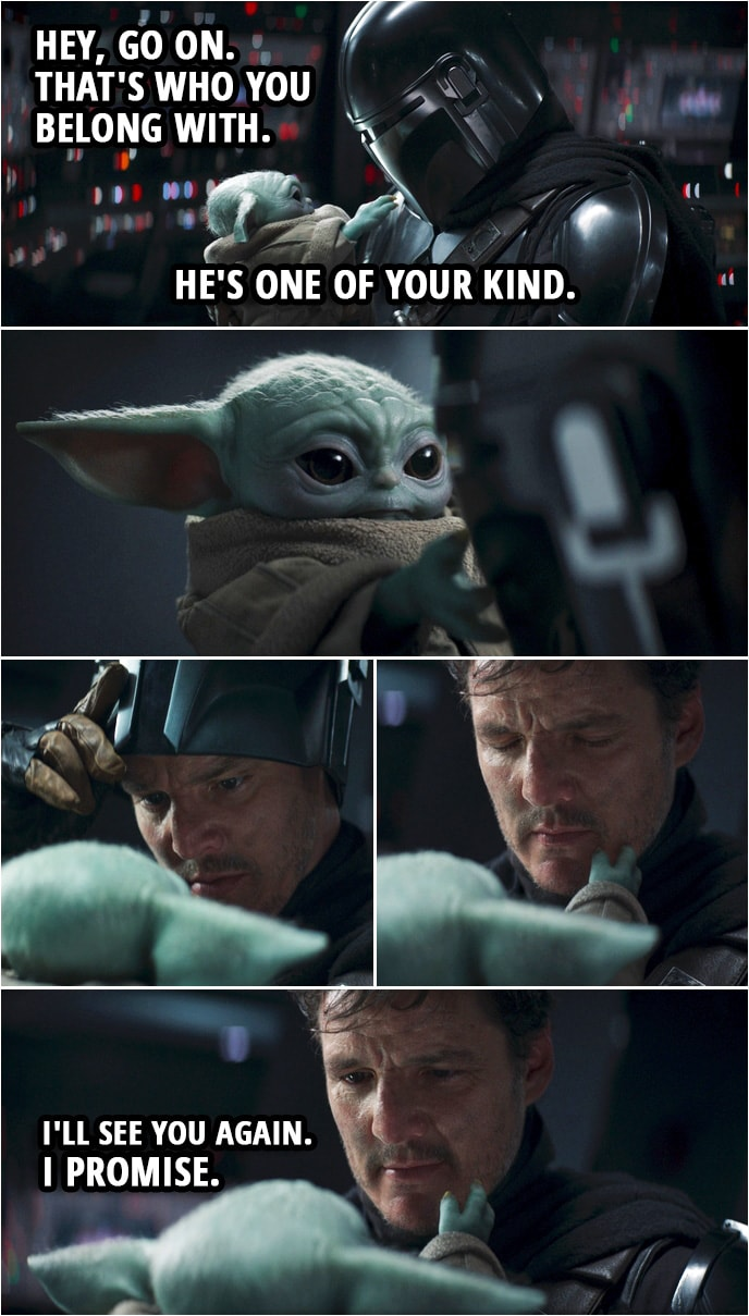 """Quote from The Mandalorian 2x08 