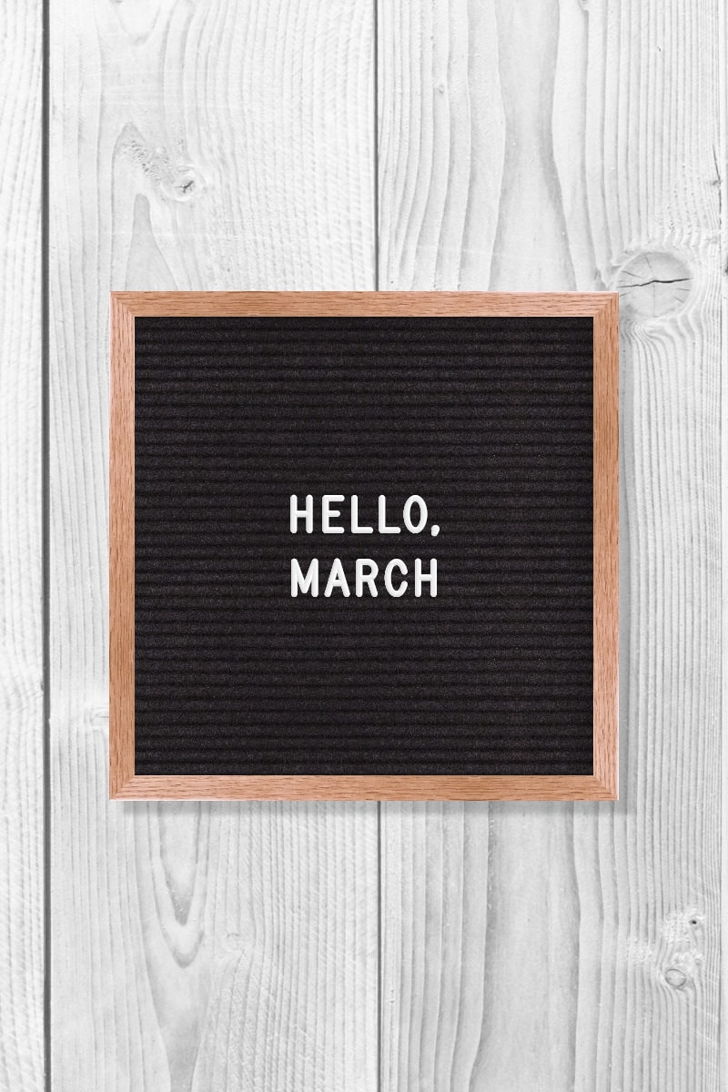 March Quotes – Hello, March.