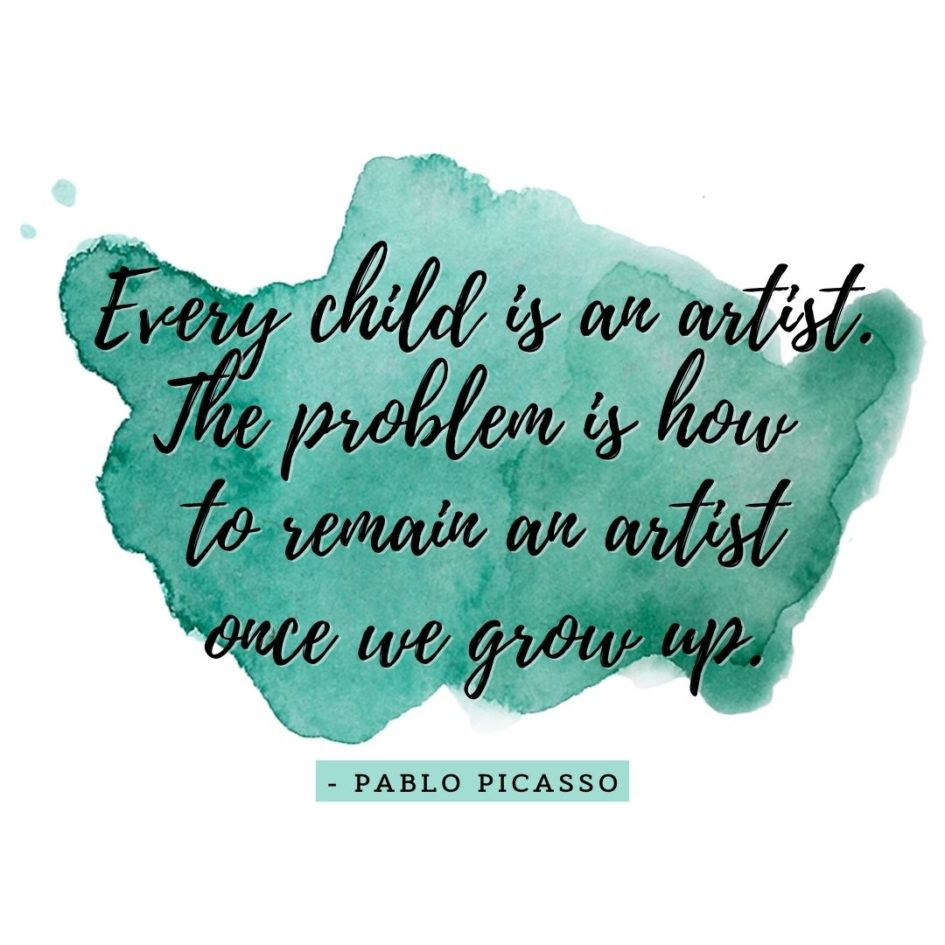 Quote about Art | Every child is an artist. The problem is how to remain an artist once we grow up. - Pablo Picasso