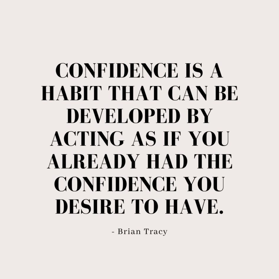 Quote about Confidence | Confidence is a habit that can be developed by acting as if you already had the confidence you desire to have. - Brian Tracy