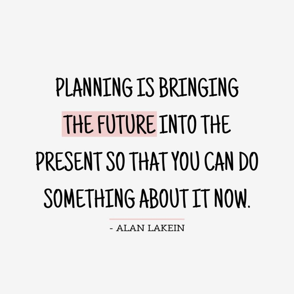 Quote about Future | Planning is bringing the future into the present so that you can do something about it now. - Alan Lakein